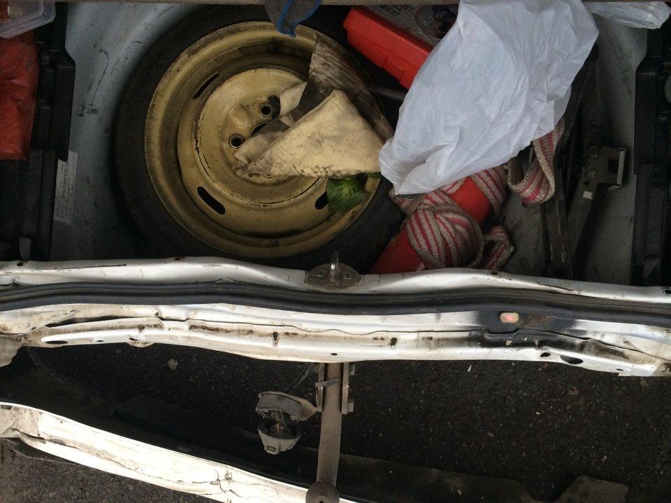 Багажник попа