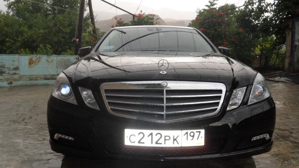Mercedes e200 фото