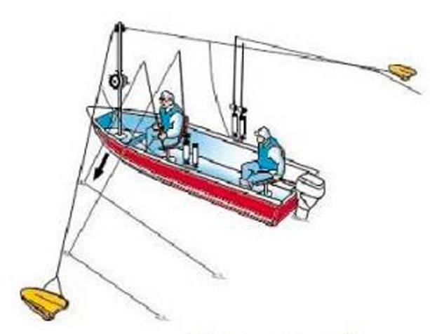 Кораблик для троллинга своими руками чертежи видео