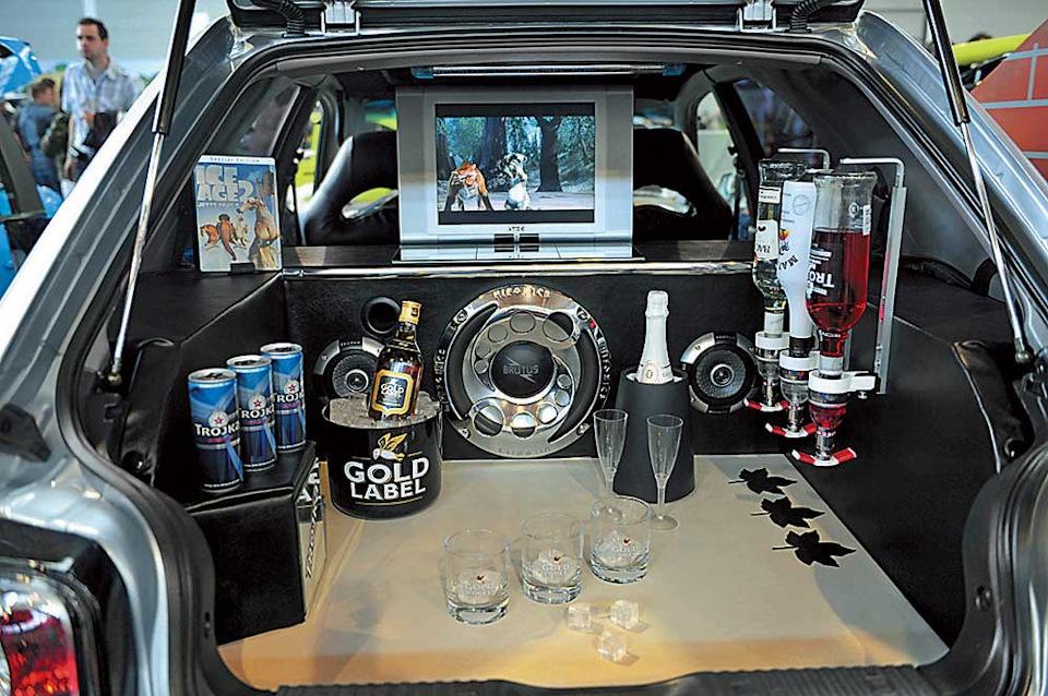 Как сделать бар для машины