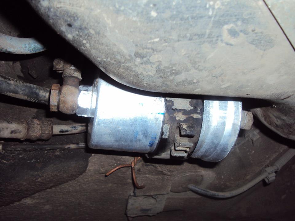 замена топливного фильтра - бортжурнал Audi A6 2.8 Quattro 1998 года на DRIVE2
