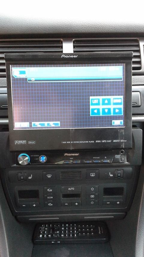 меняю крутую магнитолу на ништяки Audi A6 C5 Community Drive2