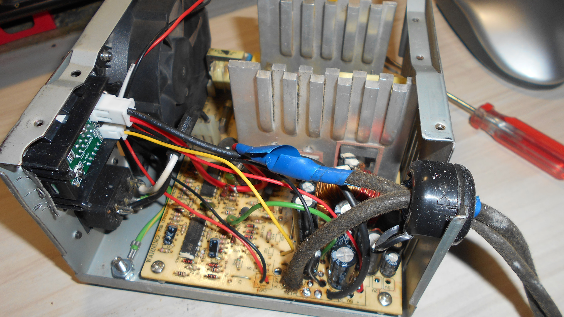 Из компьютерного блока питания - лабораторный и зарядное 8