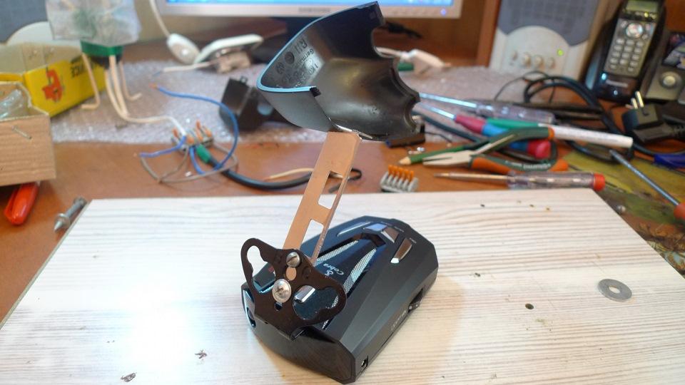 Крепление радара детектора своими руками