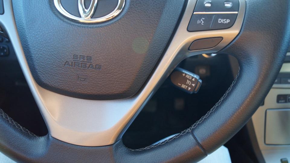 Тойота авенсис круиз контроль