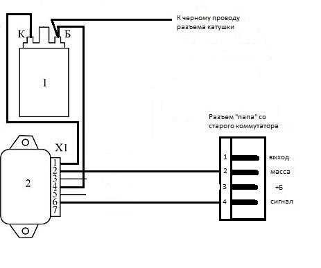 принципиальная электрическая схема ваз 2108