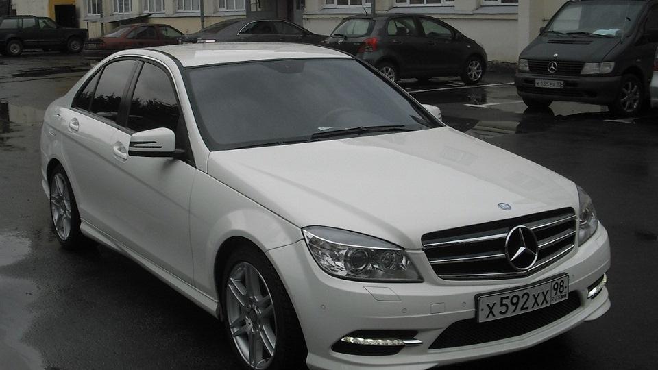 Mercedes benz c class фото