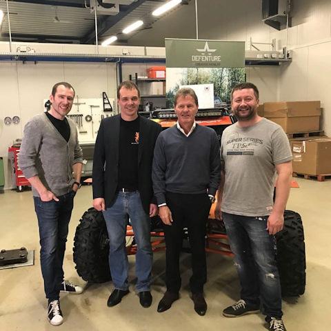 Сэр Малькольм Уилсон, глава компании M-Sport. M-Sport производит гоночные машины Форд для ралли-кросса и ралли, классов R2, R5, S2000, WRC.