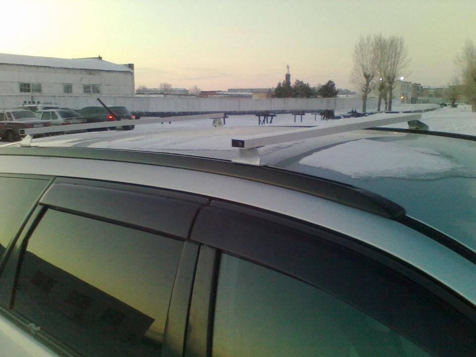 Багажник на крышу ниссан своими руками