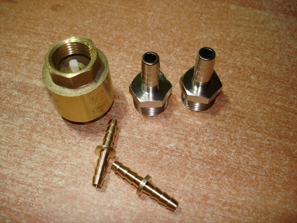 Обратный клапан для водяного насоса своими руками 97