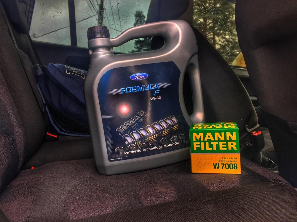 Замена масла на форд фьюжн 1.6