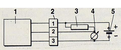 Ходовые огни на авто схема подключения от датчика масла 39