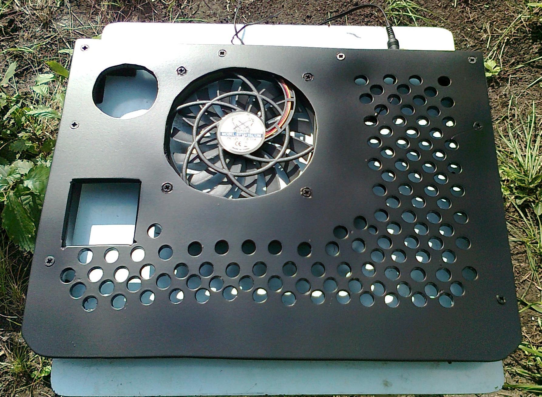 Подставка для ноутбука с охлаждением своими руками