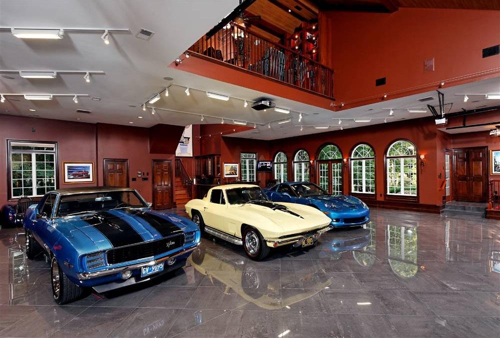 красивый гараж фото