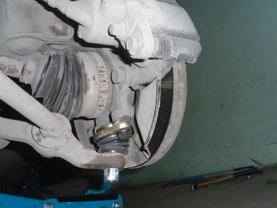 Замена шаровых опор - бортжурнал Лада Приора Седан Skipper 2009 года на DRIVE2