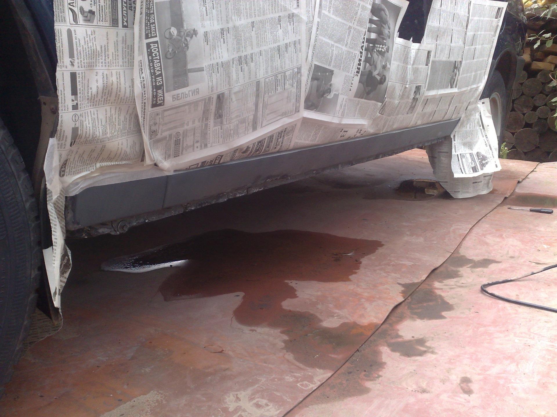 Покраска порогов своими руками - Кузовной ремонт автомобиля 71