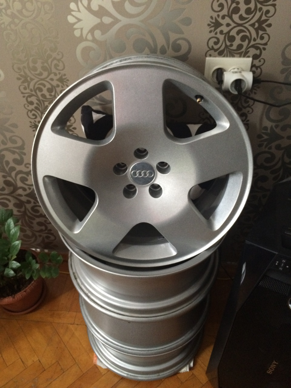 oem wheels r17 audi tt (mk1)