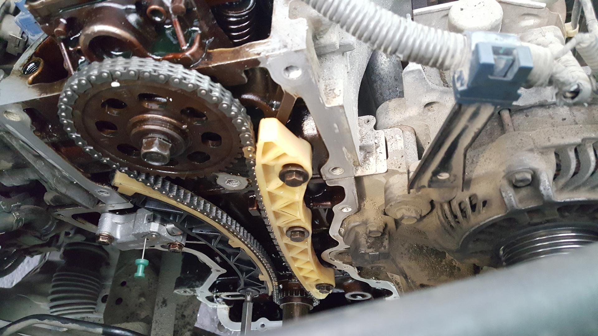 Замена натяжителя ремня ГРМ хонда цивик Проведение диагностики раздатки тойота