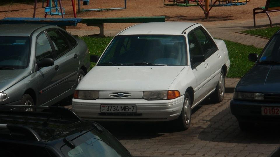 ford escort 1993 1,9 л.отзывы
