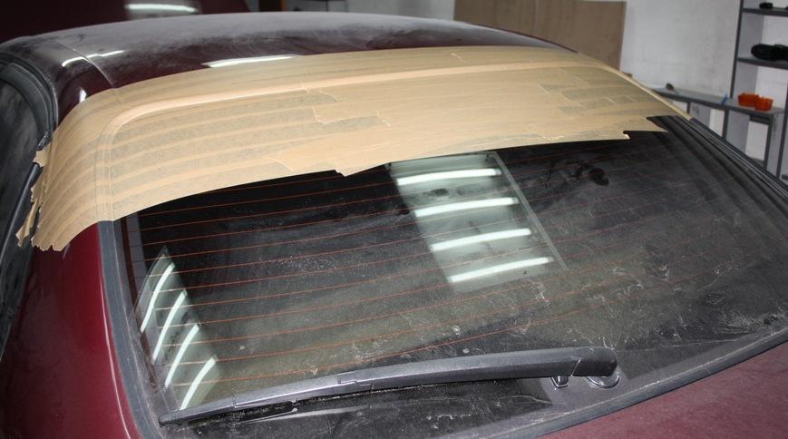 Инструкция-отчёт изготовления козырька на заднее стекло - бортжурнал Toyota Carina E -Lexus 3S-GE Beams VVTi 1992 года на DRIVE2