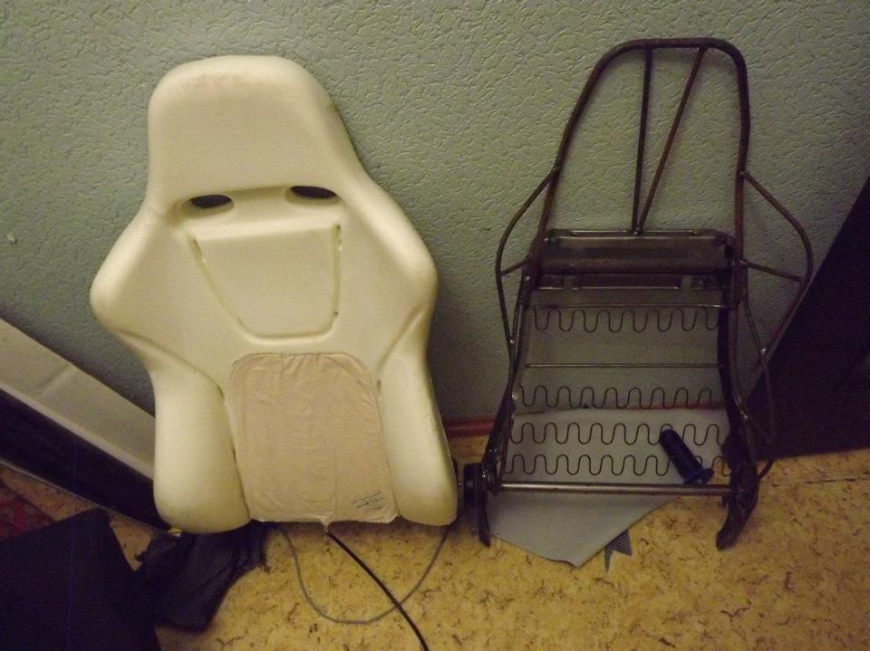 Изготовление каркаса сидений своими руками 58