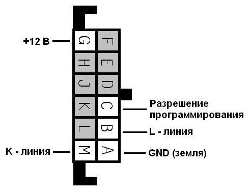 Подключаем программатор по