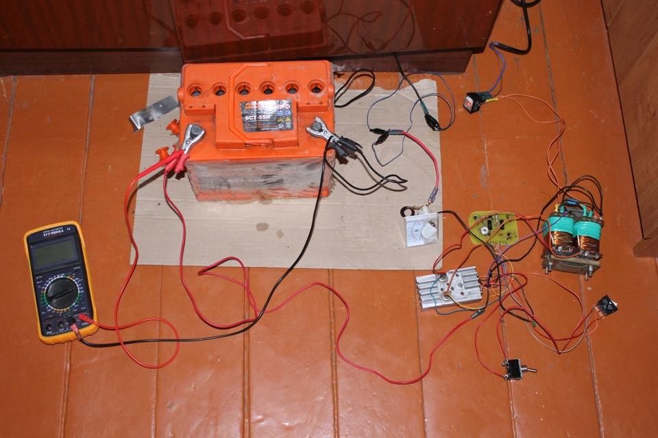 Собрать зарядное устройство для аккумулятора своими руками
