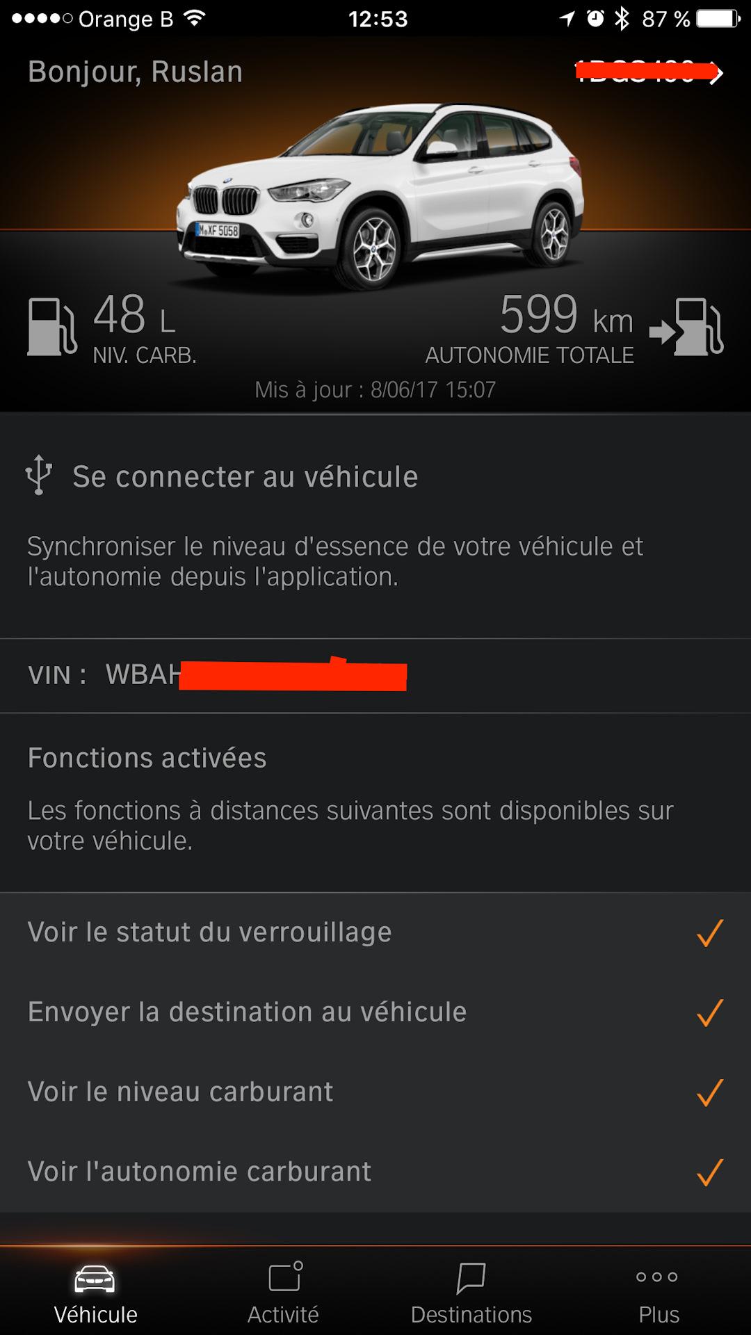 активация bmw remote services — бортжурнал bmw x1 ?? 2016 года на
