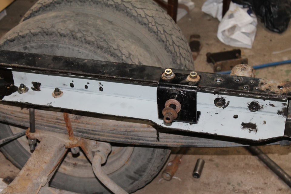 УУРГ-Р-250 на раме