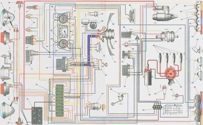 Картинки из альбома, зАЗ - 968, м и электросхема