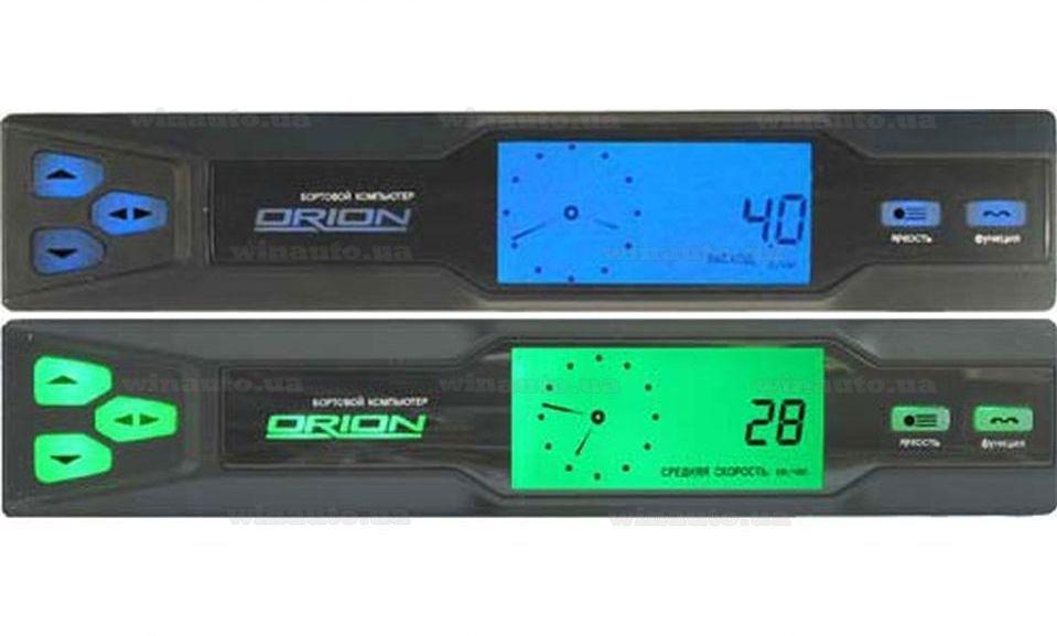 Автомобильный бортовой компьютер Орион БК-36 предназначен для оперативного контроля работы основных узлов автомобиля...