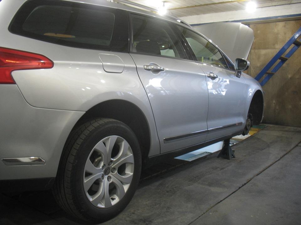 передняя подвеска ситроен с5 2008г фото