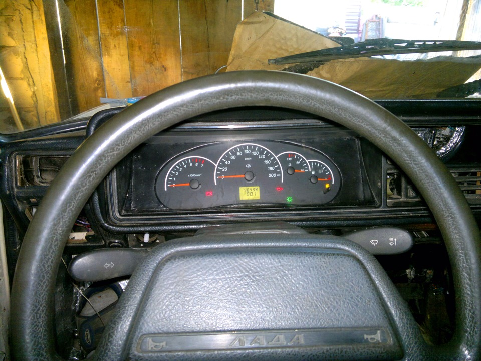Фото №15 - щиток приборов на ВАЗ 2110 от приоры