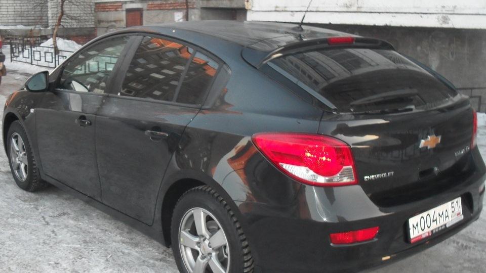 шевроле круз черного цвета фото: