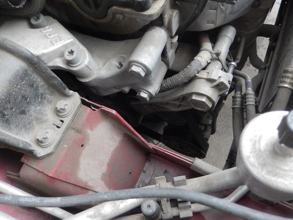 Прижимная муфта компрессора кондиционера