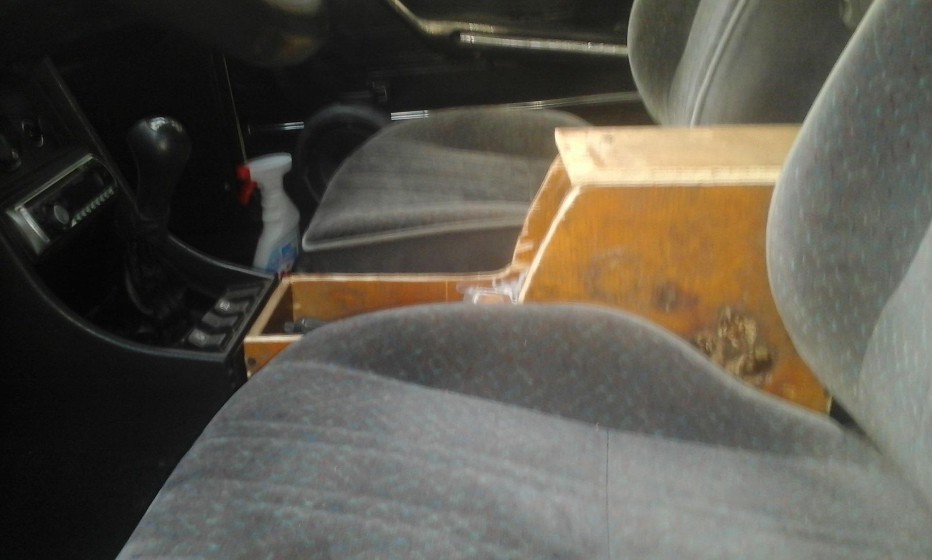 Подлокотник в ваз 2107 своими руками 64