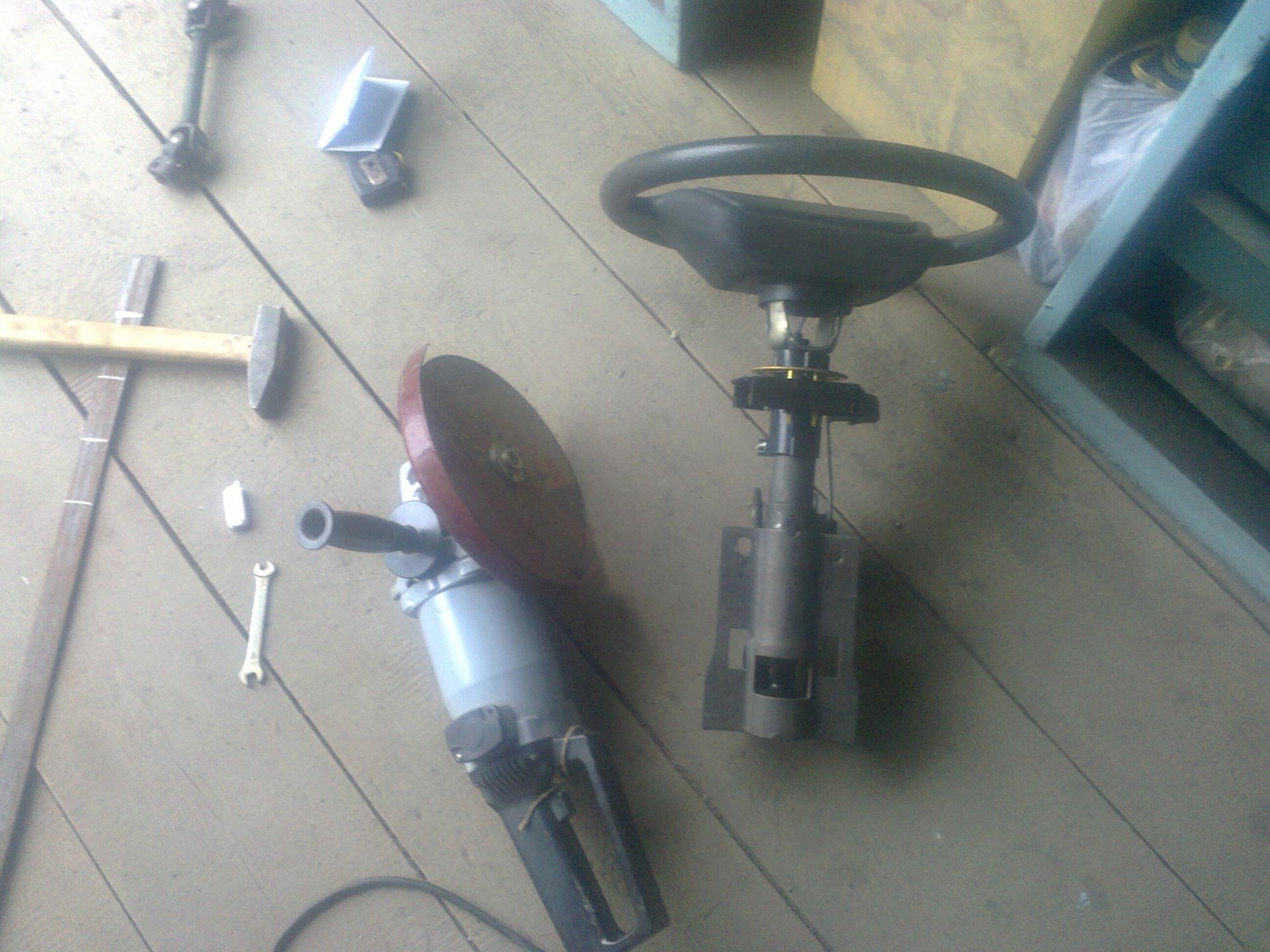 схема рулевой механизм калина