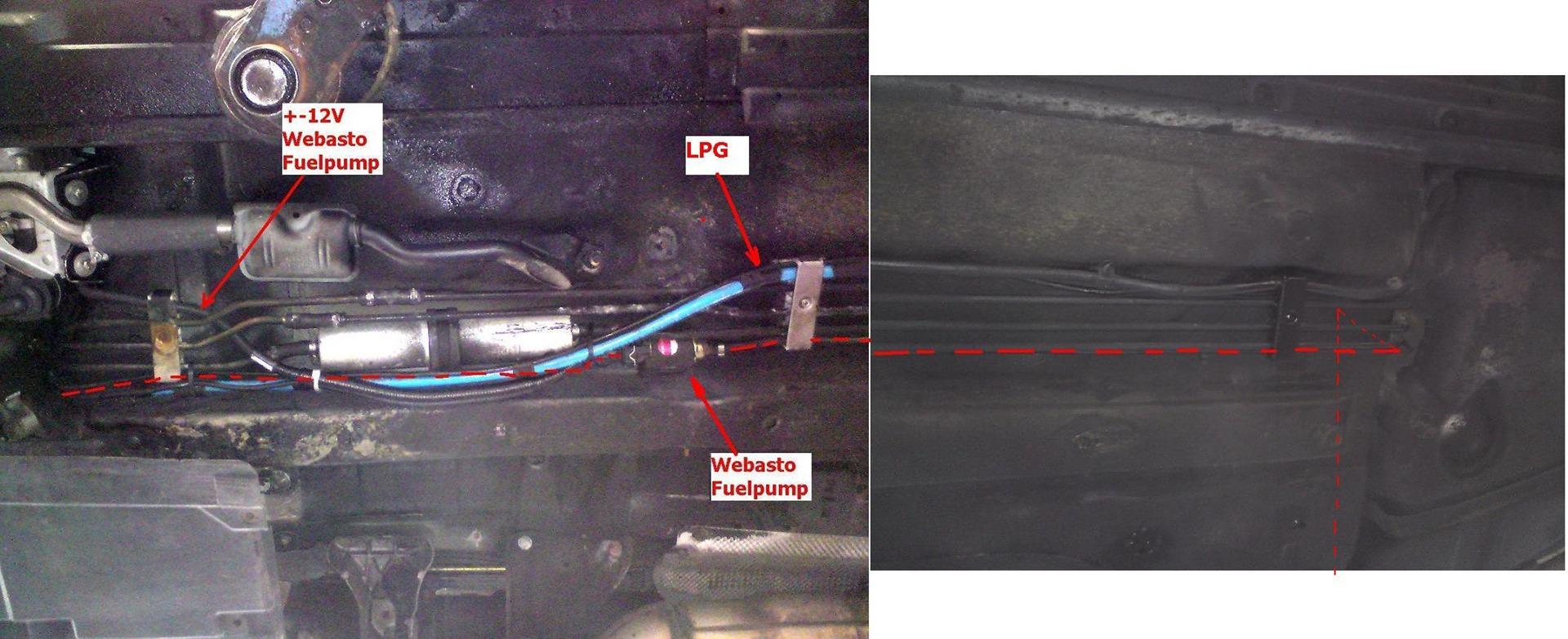 webasto схема подключения проводов