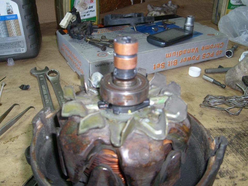 Фото №23 - замена токосъемных колец генератора ВАЗ 2110