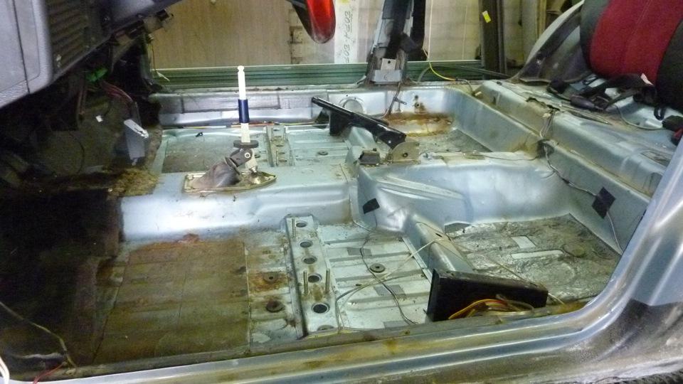 Ремонт днища ваз 2109 ремонт