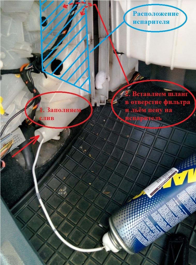 Замена салонного фильтра на опель корса с
