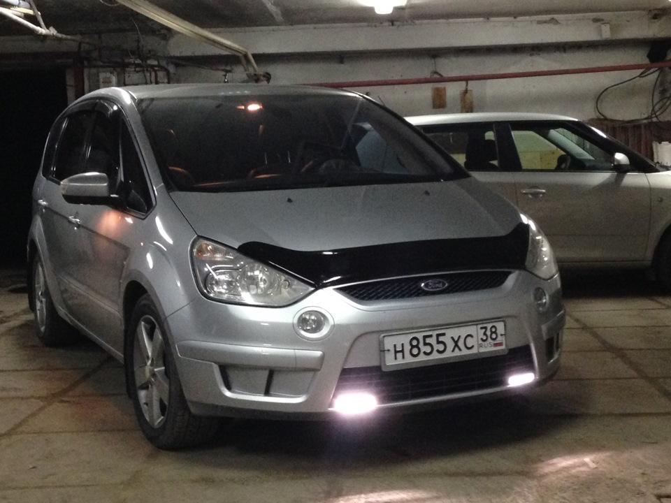 ford s-max включаются габариты
