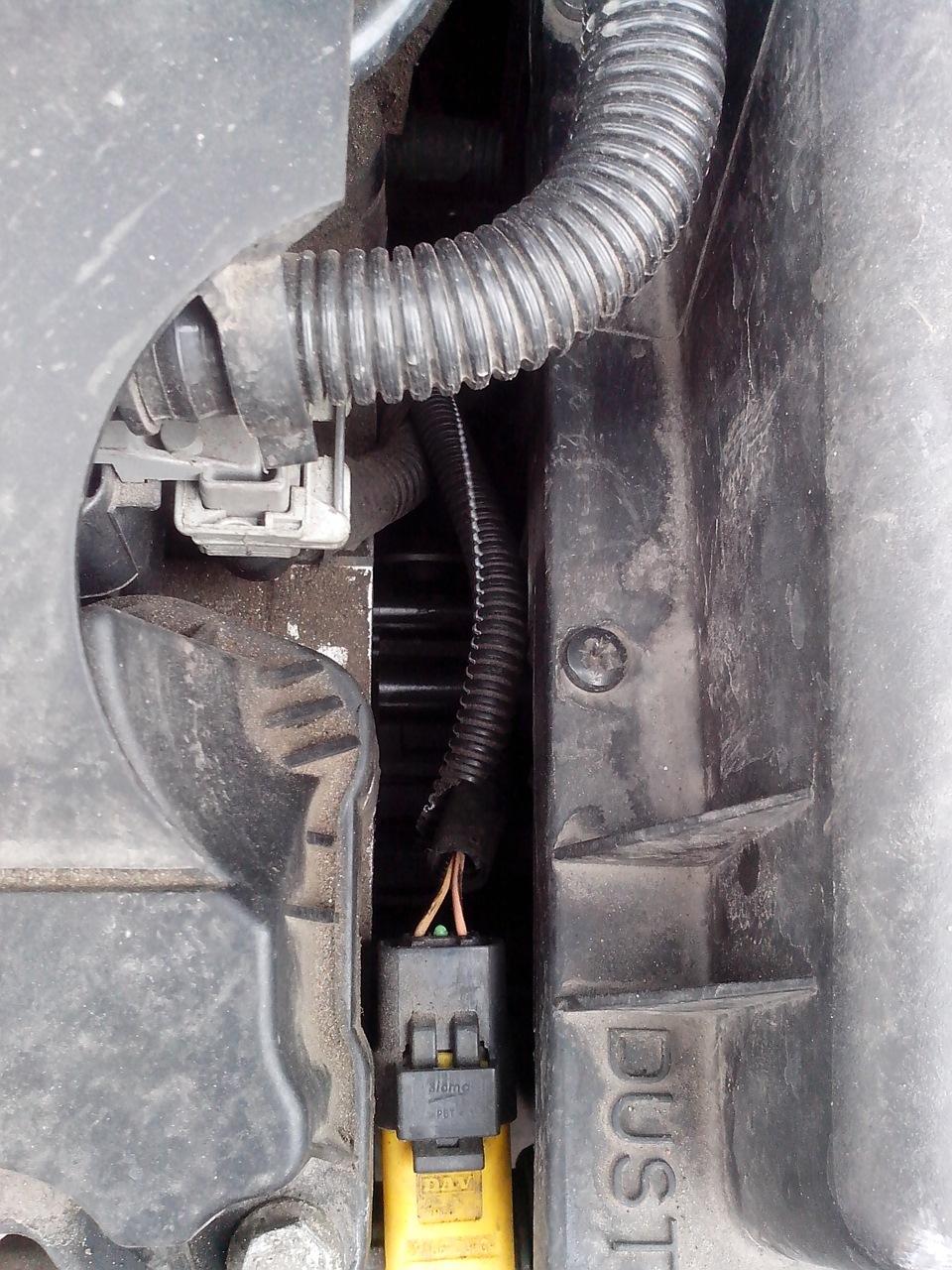 Замена термостата на пежо 408