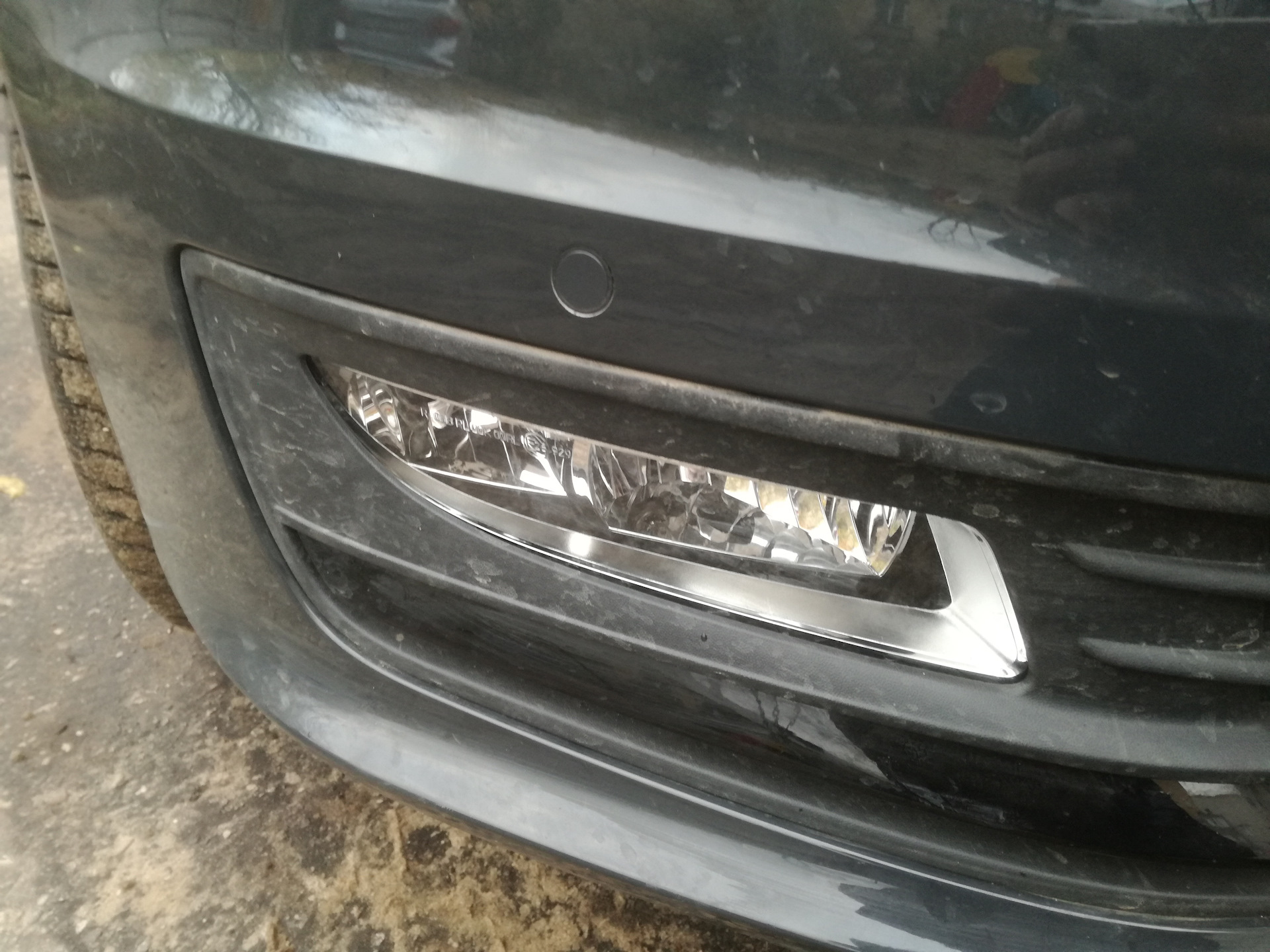 Установка парктроника на VW Polo Sedan бортжурнал. - drive2 29
