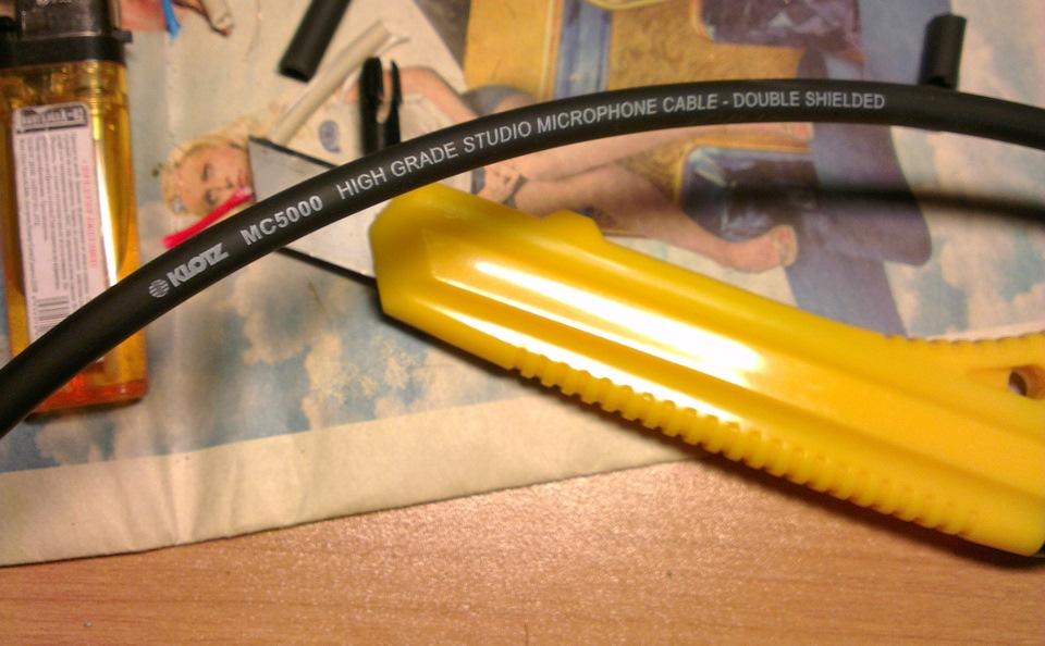 Межблочные кабеля своими руками