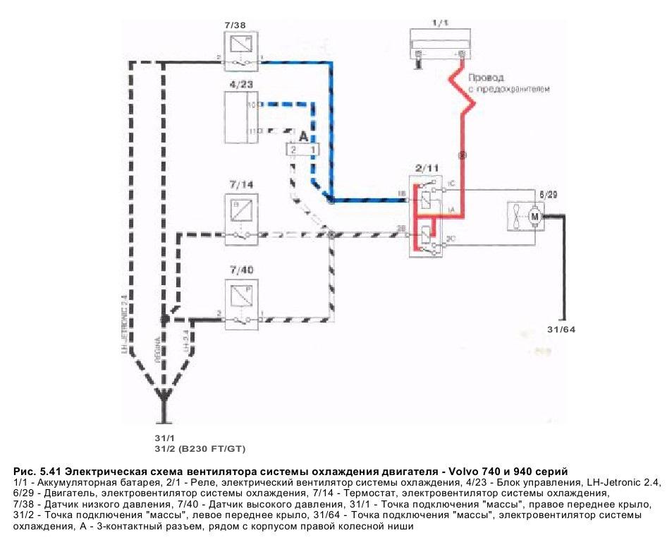 Схема двигателя в 940