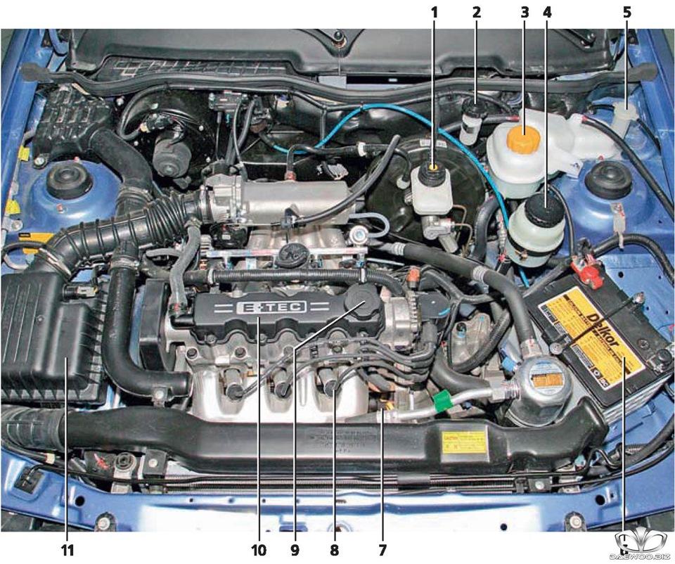 дэу нексия ремонт двигателя своими руками