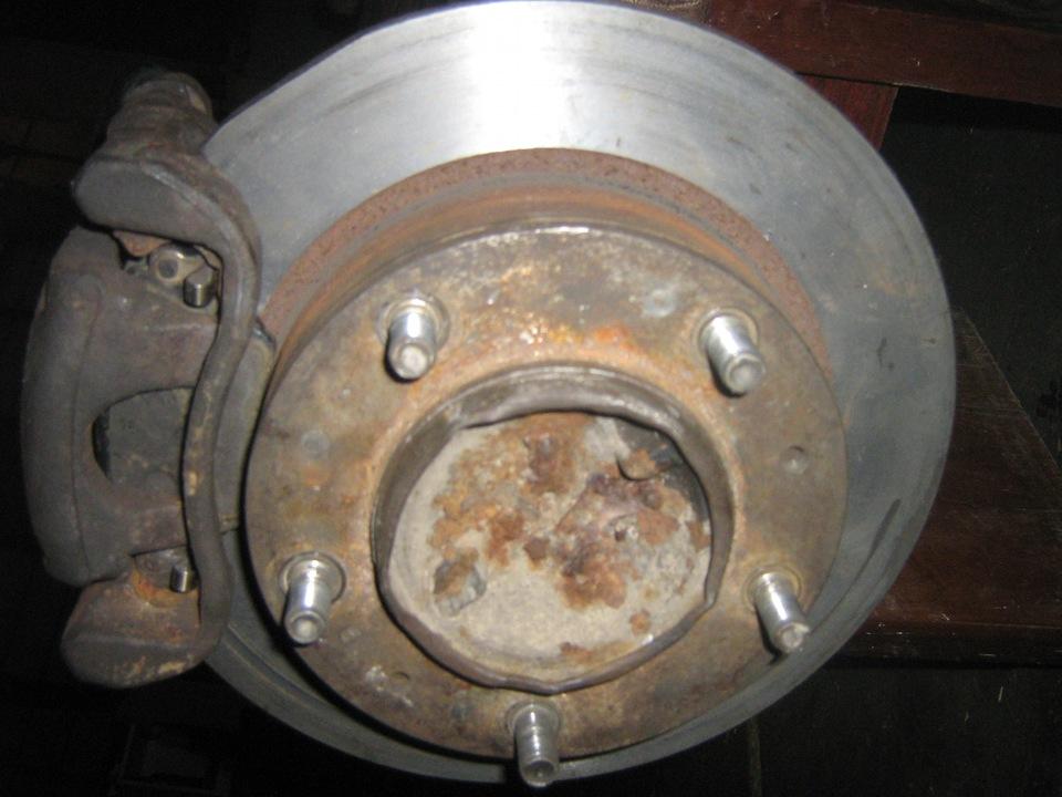Задние дисковые тормоза своими руками на нива