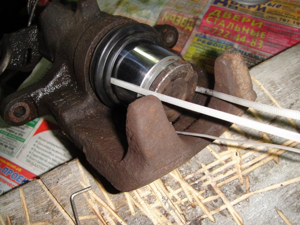 Ремонт тормозного суппорта своими руками фото