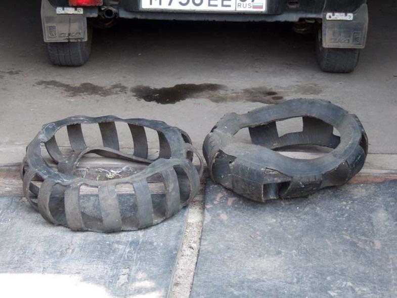 Браслеты на колеса для легкового автомобиля